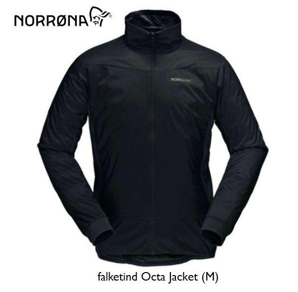 ノローナ NORRONA falketind Octa Jacket Men Caviar フォルケティン ジャケット メンズ