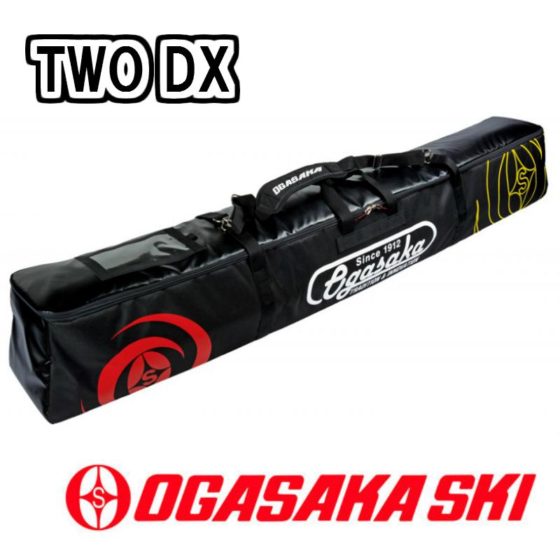 【お買物マラソン期間P5倍】2018/2019 OGASAKA TWO DX スキー 2台収納可能 スキーケース SKI CASE