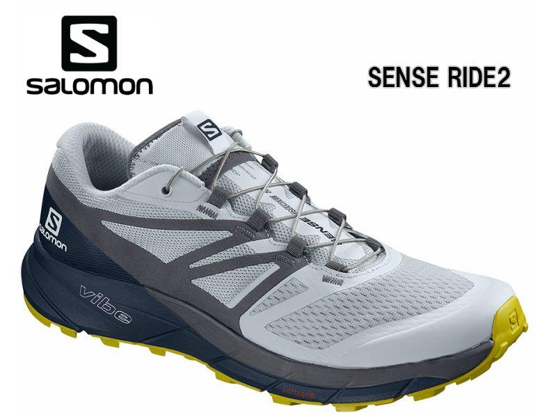 サロモン SALOMON 19SS SENSE RIDE 2 Illusion Blue L40674000 トレイルランニングシューズ