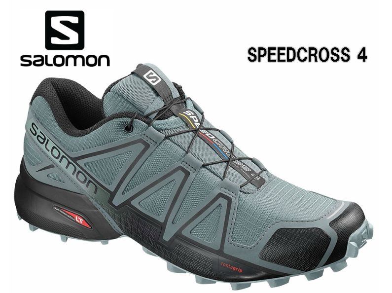 SALOMON 19SS SPEEDCROSS4 StormyWeatherトレラン メンズ 男性用 トレーニング レース ロード 初級者から上級者向けトレイルランニングシューズ L40740900