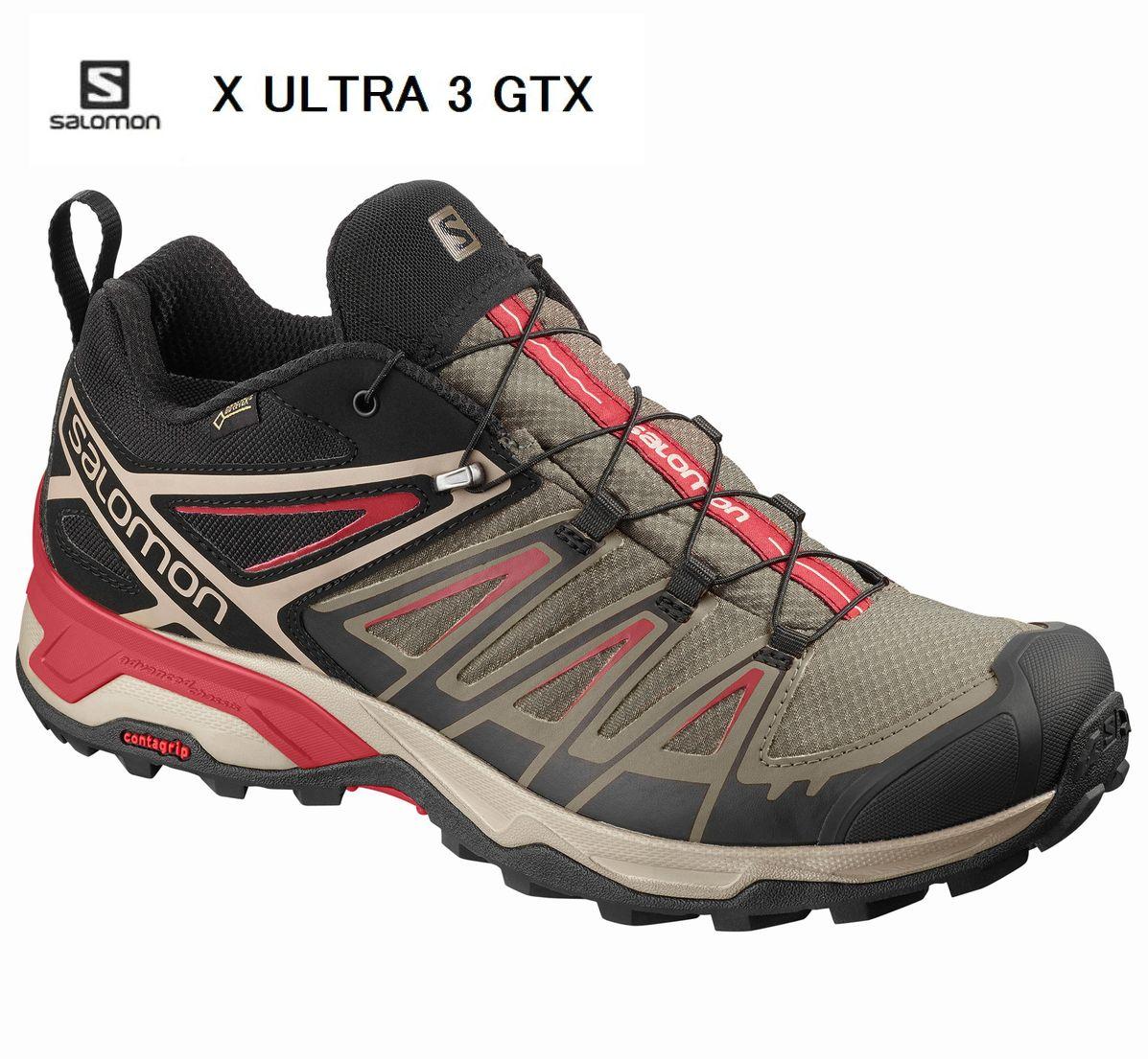 SALOMON X ULTRA 3 GTX ハイキング シューズ BUNGEE CORD ゴアテックス L40674900