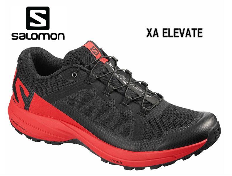 【お買物マラソン期間P5倍】SALOMON 19SS XA ELEVATE BlackHighRisk L40659500トレイルランニングシューズ