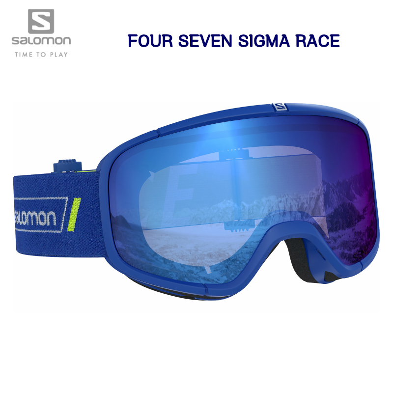 2020 SALOMON FOUR SEVEN SIGMA RACE GOGGLES L40843200 スキー ゴーグル クリアレンズ付き
