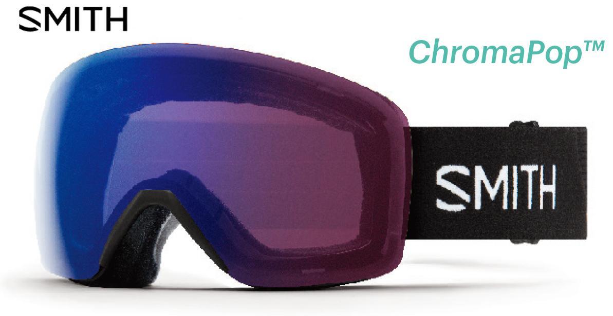 【お買物マラソン期間P5倍】SMITH スミス 2019 SKYLINE BLACK アジアンフィット CP PhotochromicRoseFlach ゴーグル スキー スノボ スノーボード