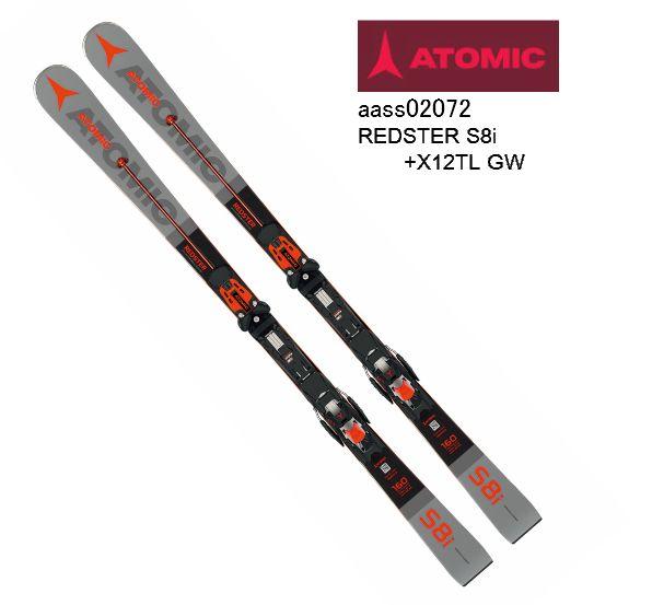 アトミック 2019 2020 ATOMIC  REDSTER S8i + X 12 TL GW レッドスターS8i DEMOモデル