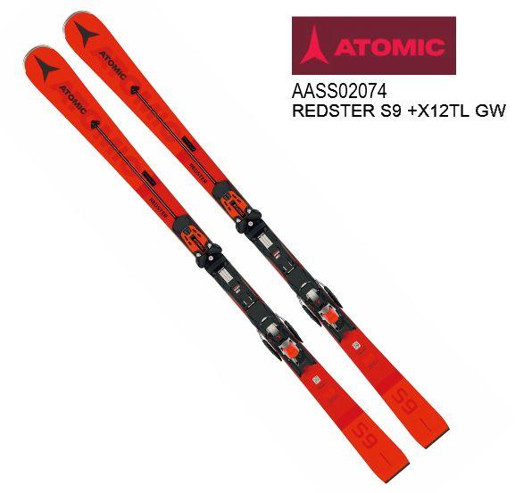 アトミック 2019 2020 ATOMIC REDSTER S9 + X 12 TL GW  レッドスター 金具付