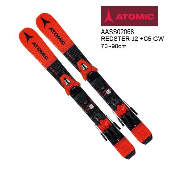 19 20 アトミック ATOMIC ジュニア用 スキービンディングセット スーパーセール期間限定価格 2019 2020 ジュニア 注文後の変更キャンセル返品 完売 スキー金具セット 5 J2 GW REDSTER + 70-90 C