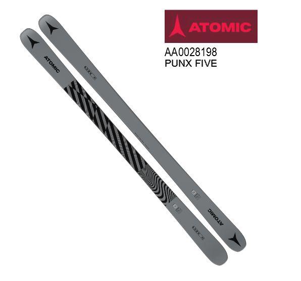 アトミック 2020 2021 ATOMIC PUNX FIVE Grey 板のみ バンプ ジャンプ パイプ