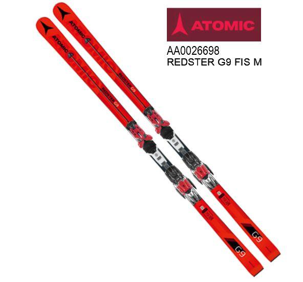 2019 ATOMIC REDSTER G9 FIS M +X16MOD 193cm アトミック レッドスター ビンディングセット スキー 板 RACING 競技用