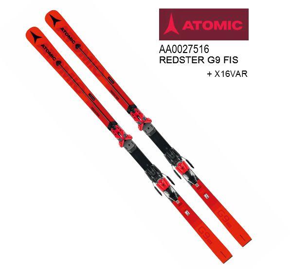 アトミック 2020 ATOMIC REDSTER G9 FIS M 193+X16VAR ATOMIC  スキーセット RACING 競技用 レース 193cm
