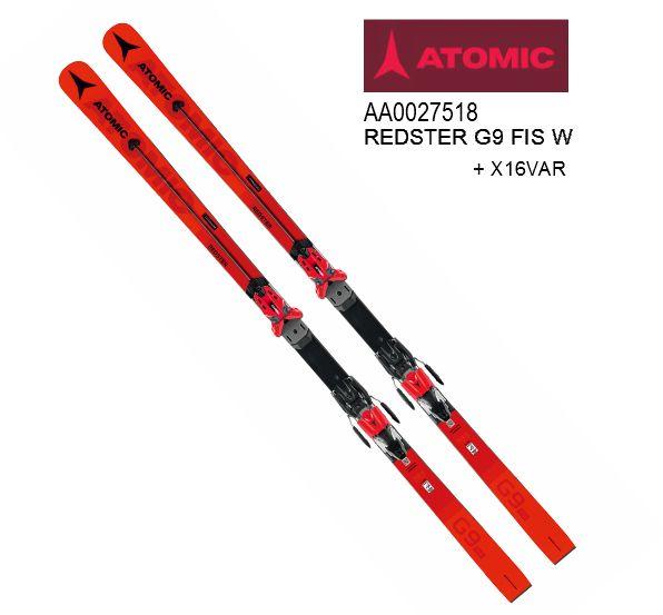 アトミック 2020 ATOMIC REDSTER G9 FIS W +X16VAR  レッドスター 183cm
