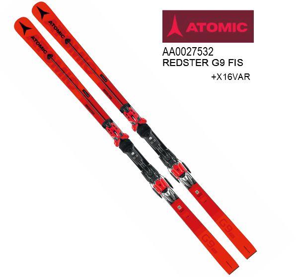 アトミック 2020 ATOMIC REDSTER G9 FIS + X16MOD  レッドスター レース GS 競技 186cm