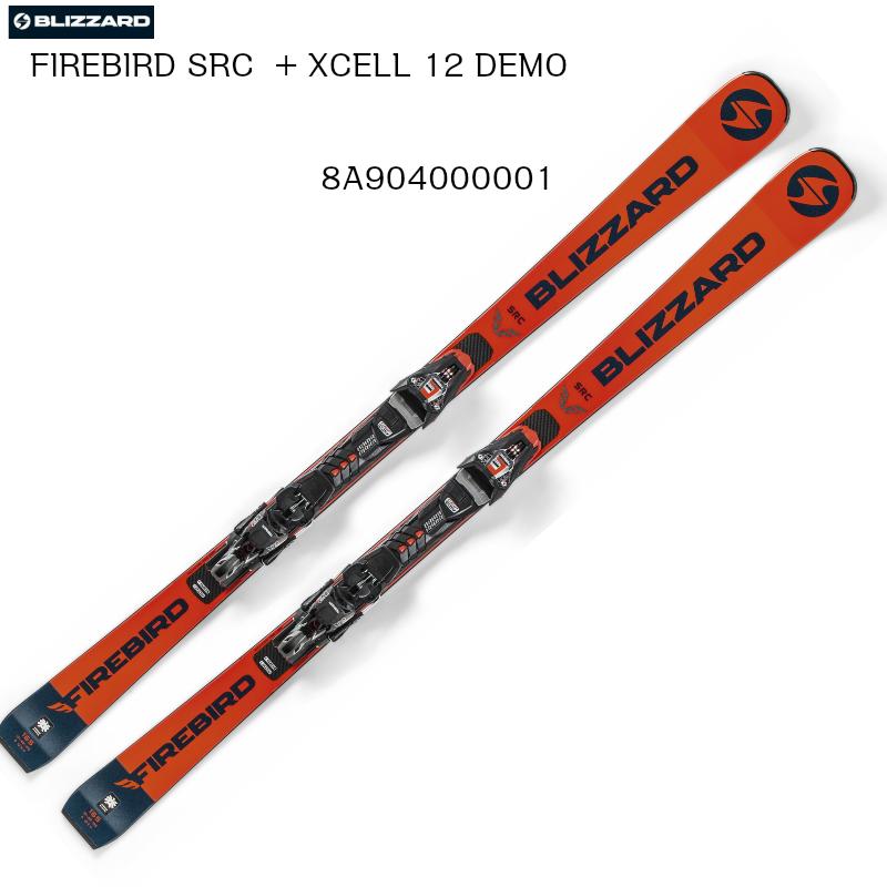 12 【お買物マラソン期間P5倍】2019 BLIZZARD SRC DEMOブリザード 上級者 スキー FIREBIRD + XCELL 2020