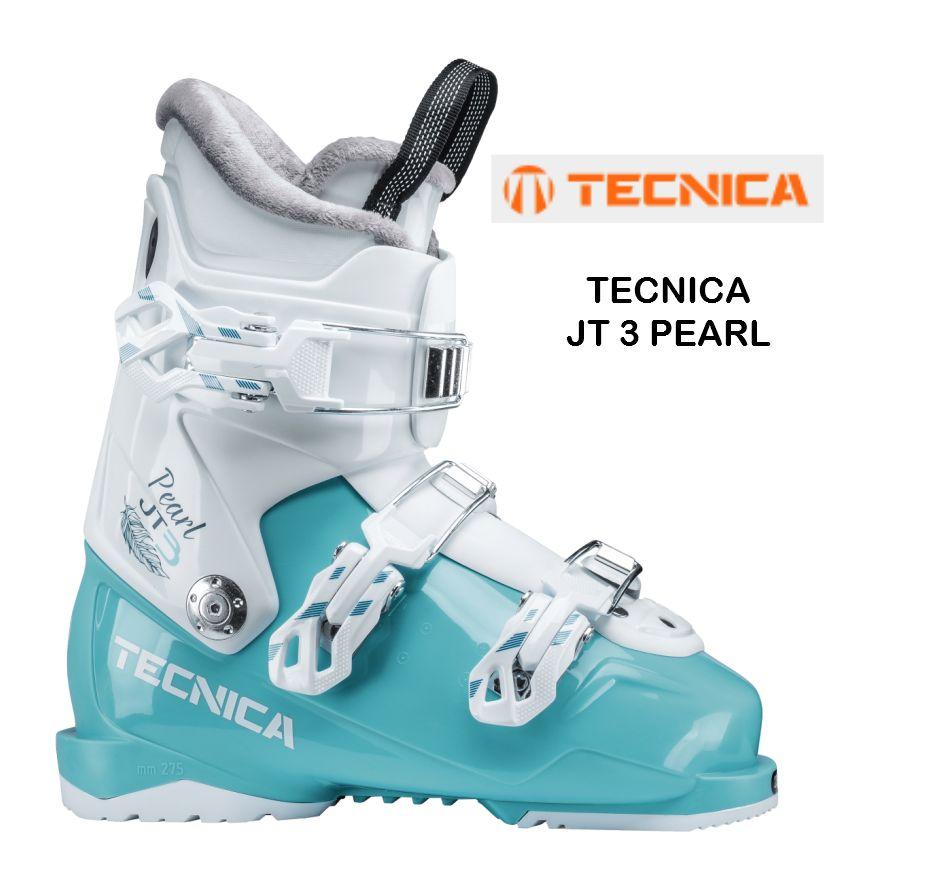 【お買物マラソン期間P5倍】2018/2019 TECNICA JT 3 PEARL テクニカ スキーブーツ こども 幼児 キッズ ジュニア 22.5 23.5 24.5 ガールズ