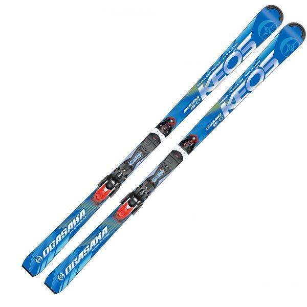 2018/2019 OGASAKA KS-CT/BL オガサカスキー Keo'sLine ケオッズ チロリア PRD11GW ビンディング付 スキー板/送料無料