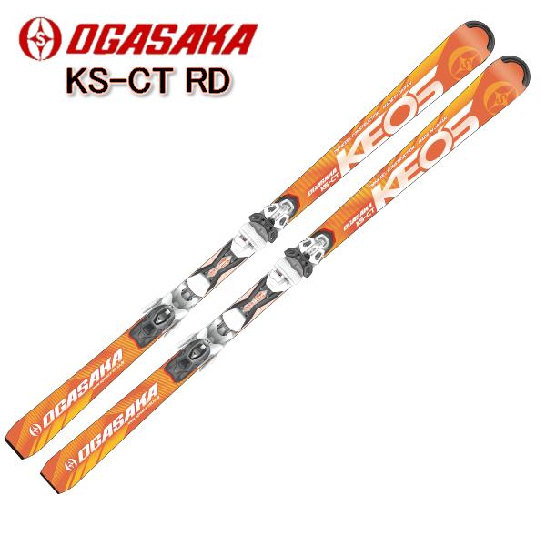 2018/2019 OGASAKA KS-CT/RD + PR11MBSオリジナルセット オガサカスキー Keo'sLine ケオッズ ビンディング付 スキー板/送料無料