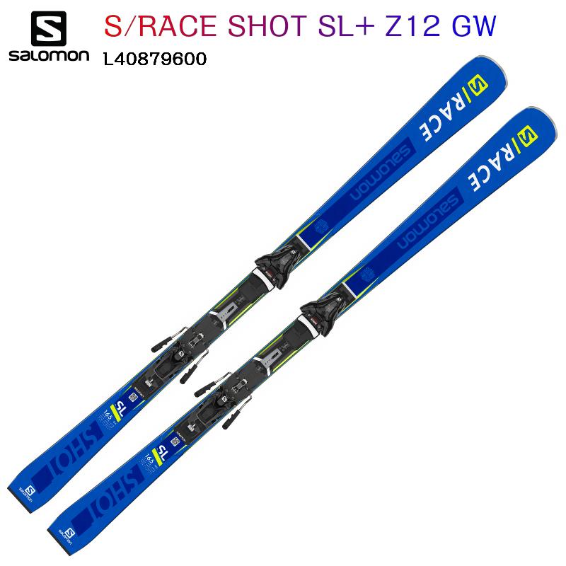 【お買物マラソン期間P5倍】2019 2020 SALOMON S RACE SHOT SL+ Z12 GW サロモン スキー 中級 上級者