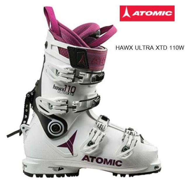 アトミック 2019 ATOMIC HAWX ULTRA XTD 110 W  スキーブーツ レディース WhiteBlackPurple