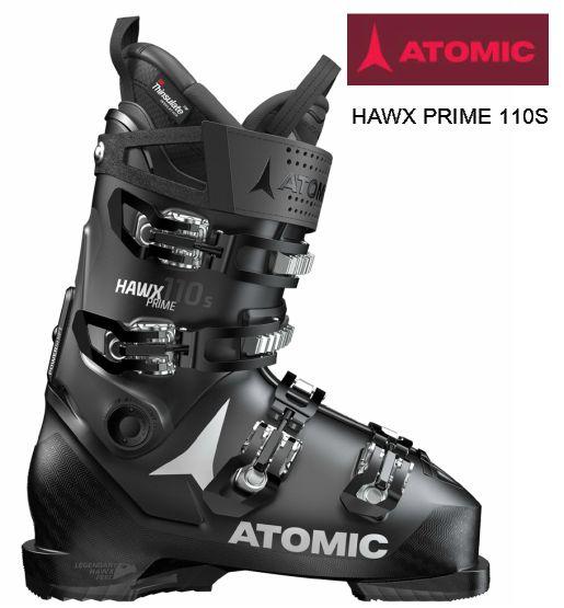 アトミック 2018 2019 ATOMIC HAWX PRIME 110 S BLACK ANTHRACITE ブラック ホークス プライム メモリーフィット 中級 上級