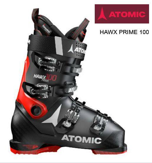 アトミック 2018 2019 ATOMIC HAWX PRIME 100 BLACK RED ブラック ホークス プライム メモリーフィット 中級 上級
