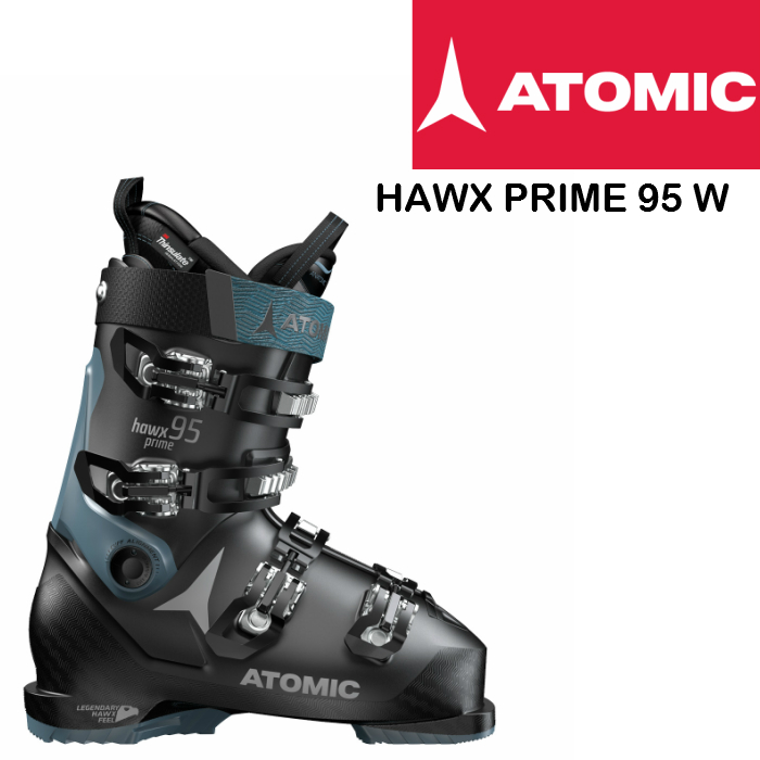 【お買物マラソン期間P5倍】2019 2020 ATOMIC HAWX PRIME 95 W Black Denim Blue