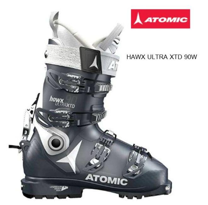 アトミック 2019 ATOMIC HAWX ULTRA XTD 90 W  スキーブーツ レディース D.BLxWhite