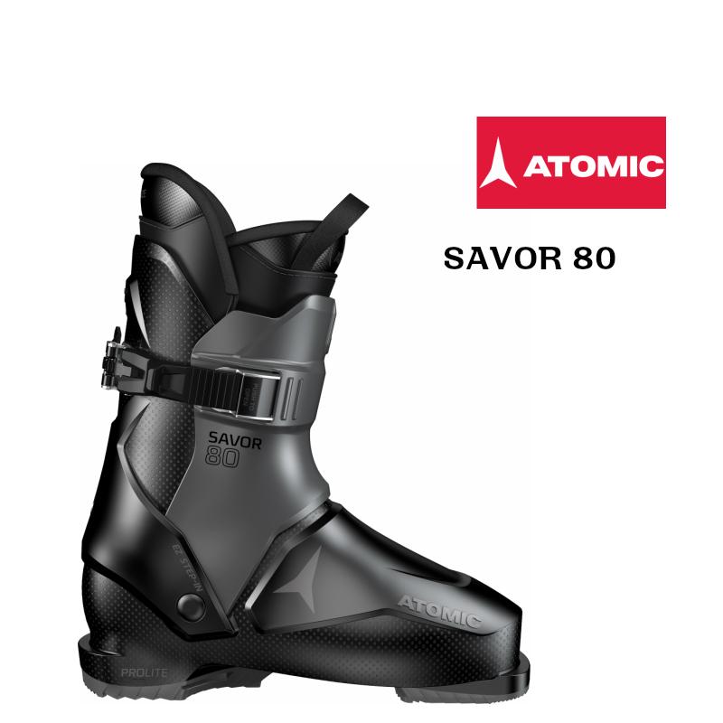 アトミック 2019 2020 ATOMIC SAVOR 80 Black Anthracite  セイヴァー スキーブーツ