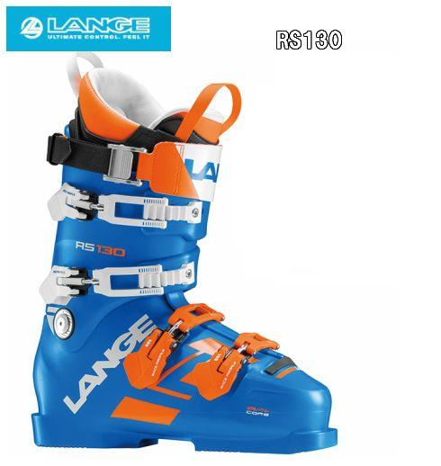 【LANGE】ラングスキーブーツ 上級者 2018/2019 RS130【送料無料】スキー靴