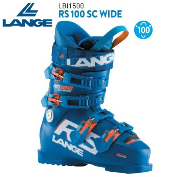 ラング 2021 LANGE RS 100 SC WIDE RS ワイド スキーブーツ