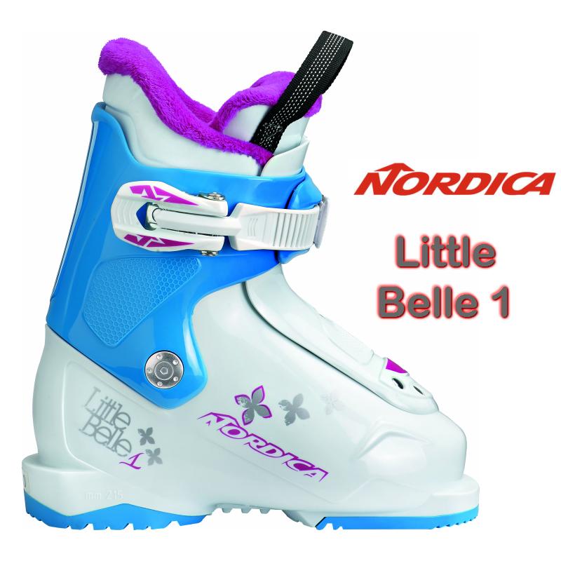 2018/2019 NORDICA LITTLE BELLE1 ノルディカ スキーブーツ こども 幼児 キッズ ジュニア 14.5 15.5 16.5 17.5 18.5 ガールズ