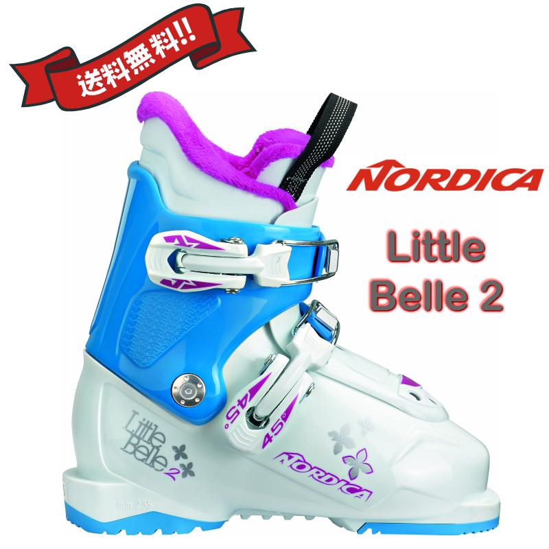 2018/2019 NORDICA LITTLE BELLE 2 ノルディカ スキーブーツ リトルベル2 ジュニア