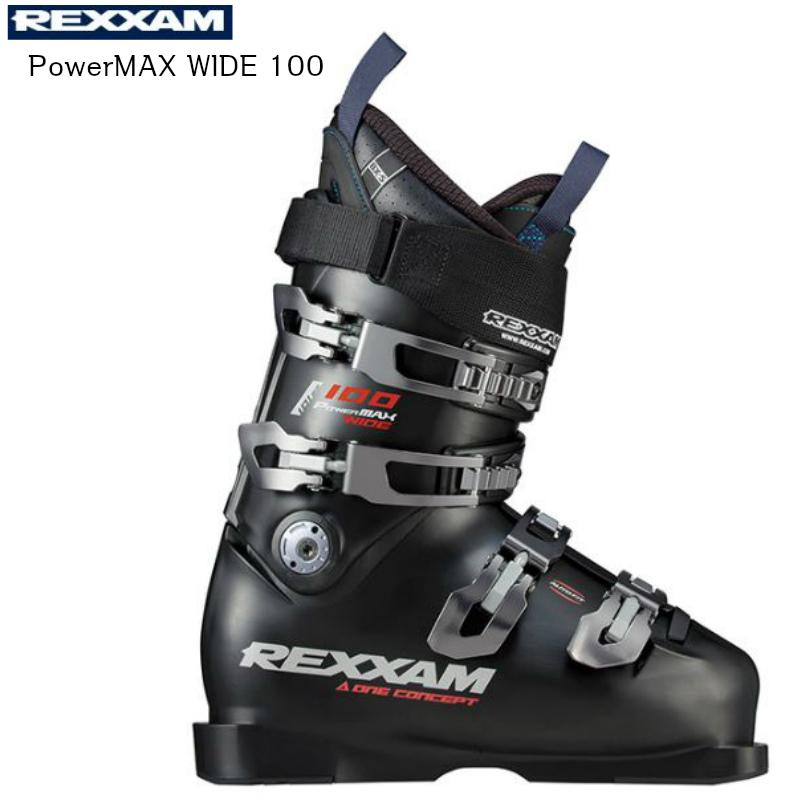 【お買物マラソン期間P5倍】2019 2020 REXXAM PowerMAX WIDE 100 BX-S インナー レグザム スキーブーツ