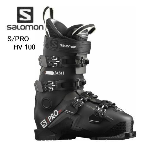 2021 SALOMON サロモン スキーブーツ メイルオーダー オールラウンド 激安通販専門店 2020 S HV PRO オンピステ 100