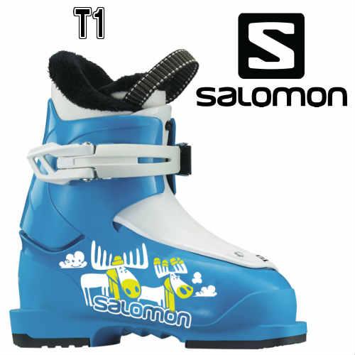 2017/2018【SALOMON】サロモン スキーブーツ T1 キッズ ジュニア ブーツ こども 15cm/16cm/17cm/18cm