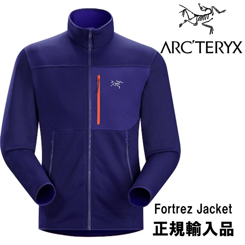 【arc'teryx】アークテリクス ミッドレイヤー FORTREZ JACKET Mens Azul アウトドア/ジャケット/フリース