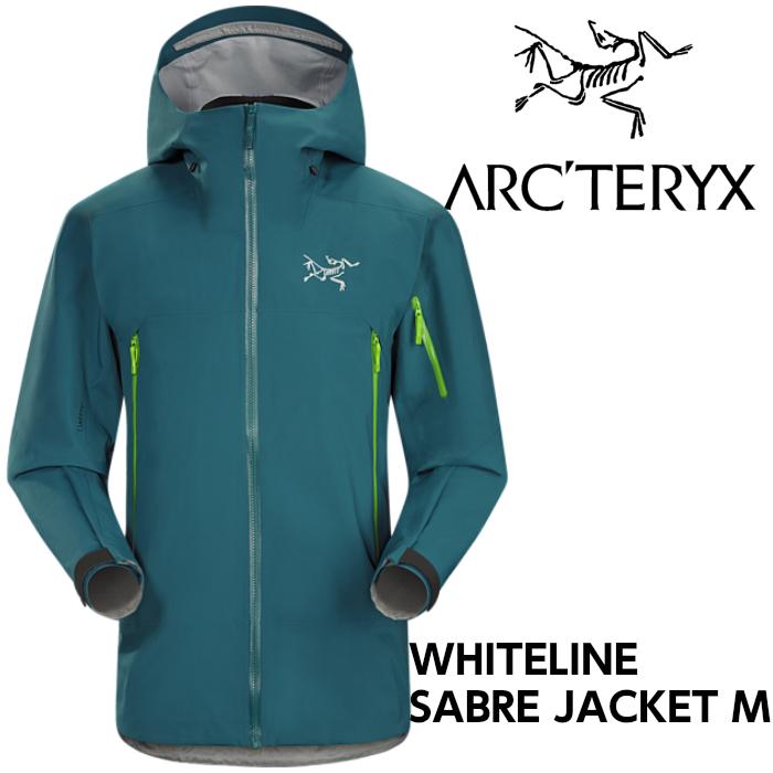 【arc'teryx】アークテリクス WHITELINE ホワイトライン SABRE JACKET Pytheas スキー/スノボ/スノーボード/シェルジャケット/ゴアテックス