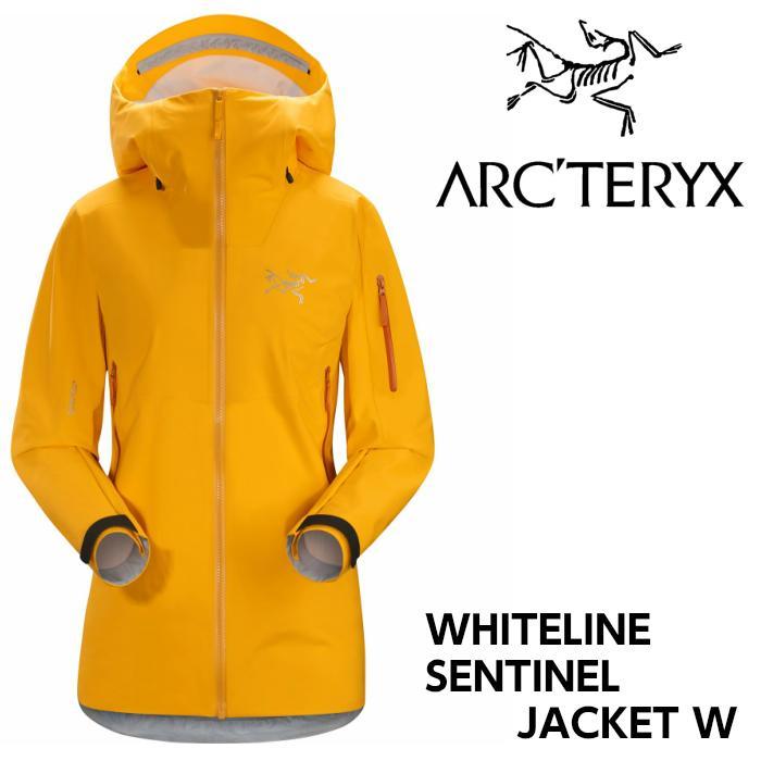 【お買物マラソン期間P5倍】【arc'teryx】アークテリクス WHITELINE ホワイトライン レディス SENTINEL JACKET Womens ASPEN GLOW スキー/スノボ/スノーボード/シェルジャケット/ゴアテックス/女性
