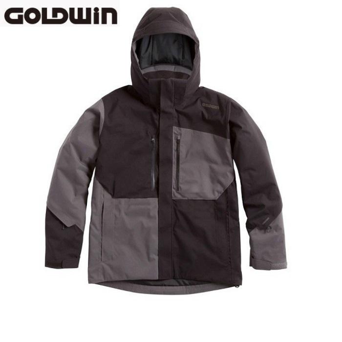 スキーウエア 中綿 ジャケット ユニセックス トップス 【スーパーセール大特価】【GOLDWIN】 G11610P Shiny Jacket K ゴールドウィン スキーウェア ブラック ユニセックス ジャケットのみ