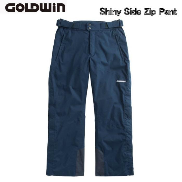 【お買物マラソン期間P5倍】スキーウエア パンツ【GOLDWIN】ゴールドウィン Shiny Side Zip Pant G31613P パンツのみ