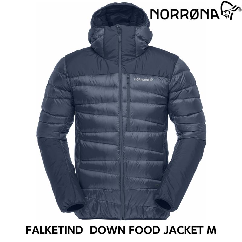 スーパーセール大特価 NORRONA falketind down hood Jacket (M) Indigo Night/ダウンジャケット スキー/スノボ/スノーボード/