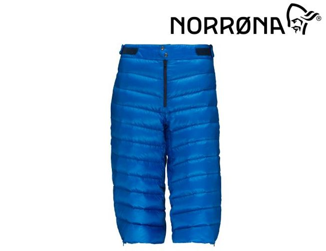 NORRONA lyngen down850 Knickers Men Hot Sapphire メンズ リンゲン ダウン850 ニッカーズ パンツ BC バックカントリー サイドカントリー スキー スノボ スノーボード メンズ 男性