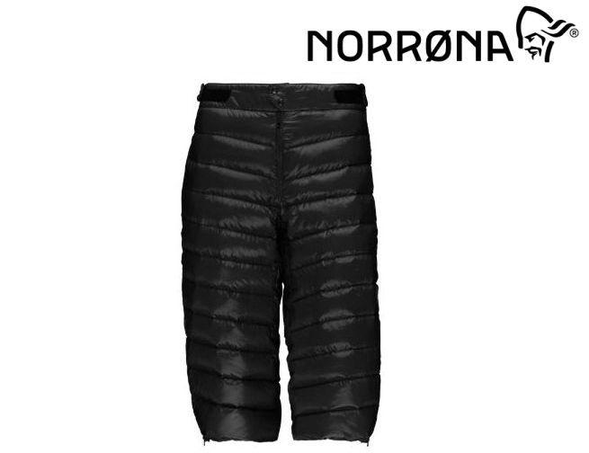 【お買物マラソン期間P5倍】NORRONA lyngen down850 Knickers Men CAVIAR メンズ リンゲン ダウン850 ニッカーズ パンツ BC バックカントリー サイドカントリー スキー スノボ スノーボード メンズ 男性