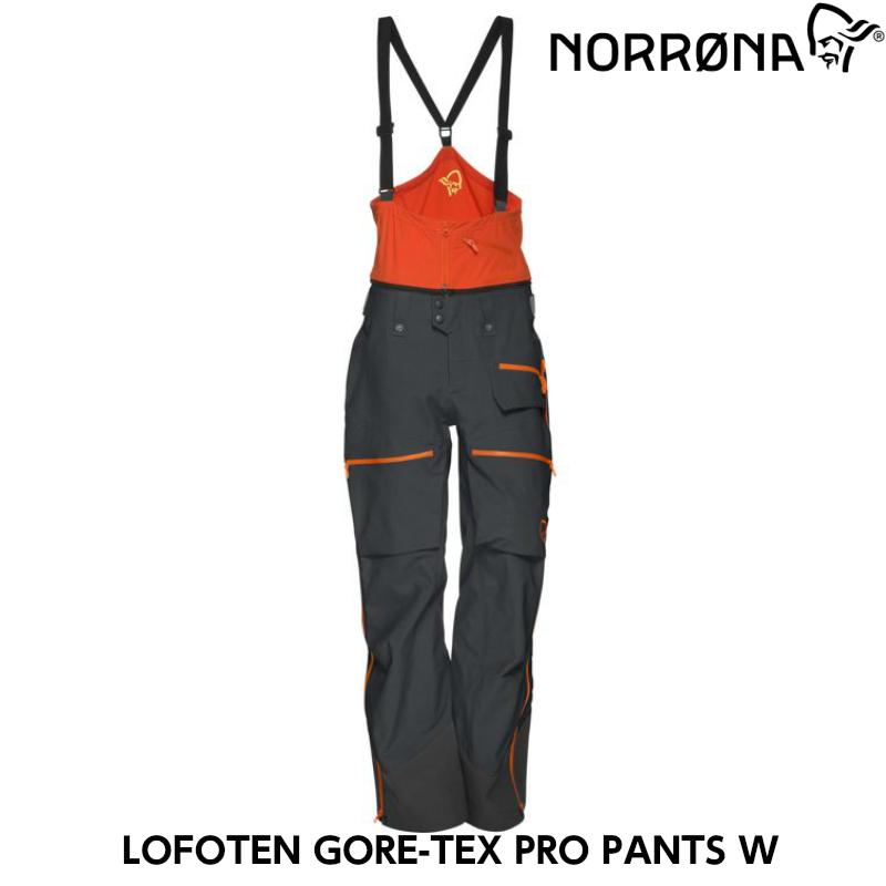 【お買物マラソン期間限定大特価】【NORRONA】ノローナlofoten Gore-tex Pro Pants(W)COOL BLACK ロフォテン ゴアテックスプロシェル BC/バックカントリー/サイドカントリー/スキー/スノボ/スノーボード