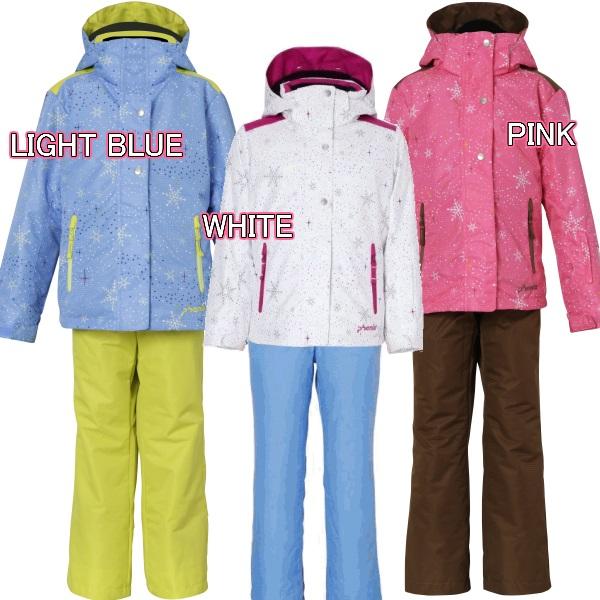 【OUTLET】【PHENIX】フェニックス こども スキーウェア Snow Crystal Girl's Two-Piece ツーピースPS6H22P75 スキー キッズ/ジュニア 子供 女の子 上下セット ジャケット&パンツ ウェア 90cm 100cm 110cm ガールズ