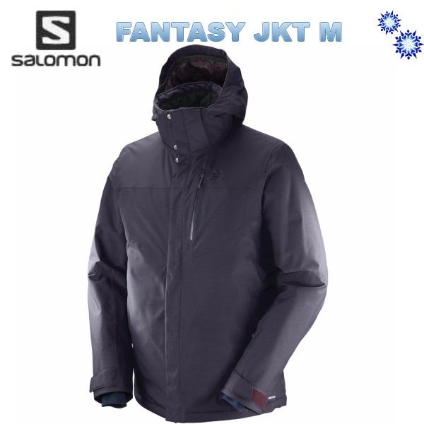 【スーパーセール大特価】2018 SALOMON FANTASY JACKET MEN MaverickHeather L39706900 サロモン メンズ スキー ウェア ジャケット 送料無料