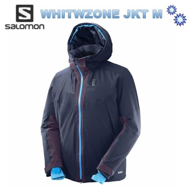 SALOMON 2018 サロモン メンズ WHITEZONE JKT Mens L39712100 Night Sky/Maverick スキーウェア ジャケット 送料無料
