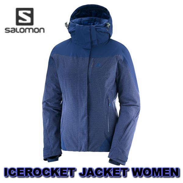 SALOMON サロモン 2019 ICEROCKET JKT + W MedievalBlue L40413400 女性 レディス ジャケット 送料無料 スキーウエア