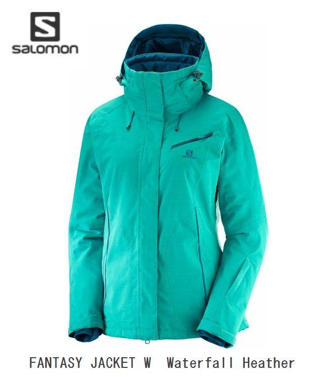 サロモン 2019 SALOMON FANTASY JKT W L40376600 Waterfall Heather  ファンタジージャケット レディス
