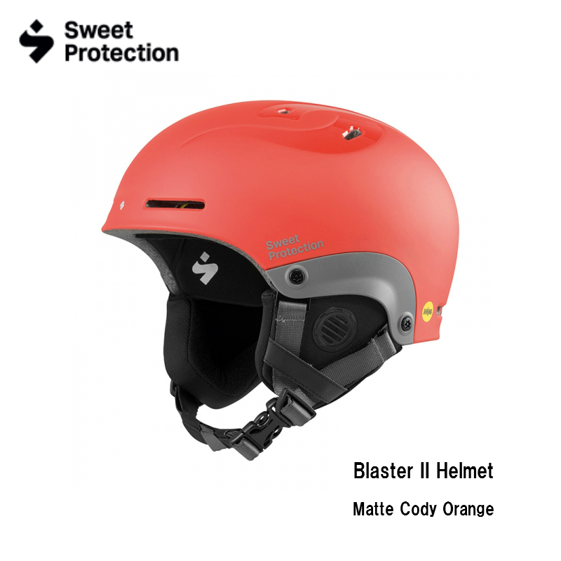 【お買物マラソン期間P5倍】Sweet Protection Blaster II Helmet Matte Cody Orange ブラスター II スキー ヘルメット スノーボード メンズ