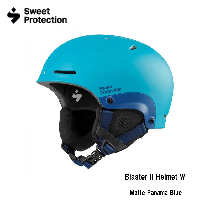 【お買物マラソン期間P5倍】Sweet Protection Blaster II Helmet W Matte Panama Blue ブラスターII スキー ヘルメット スノボ スノーボード レディス ウイメン 展示品